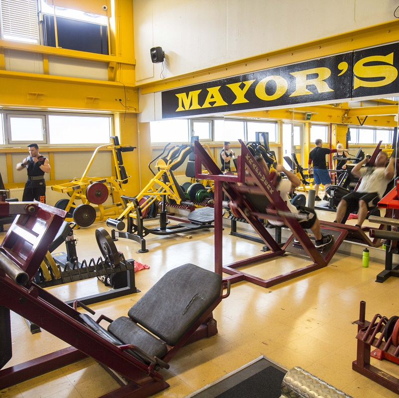 mayors gym helsinki